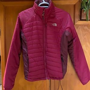 North Face winter puffer , size S